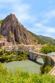 Sisteron in Provence, France
