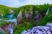 Waterfalls in Plitvice National Park