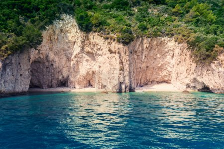 Beautiful sea landscapes on Zakynthos Island
