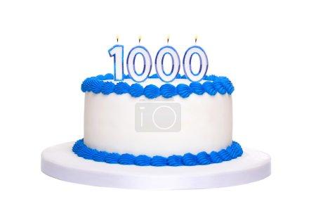1000th birthday cake