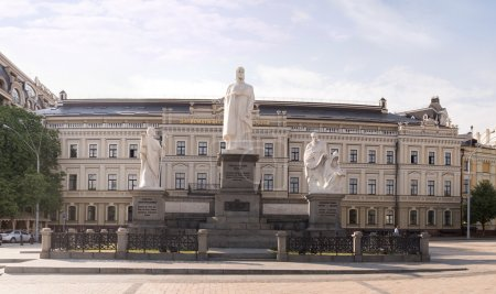 St. Michael's square and Princess Olga monument