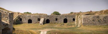 Ancient defenses ramparts Kamenetz-Podolsk fortress