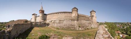 Ancient castle. Kamenetz-Podolsk, Ukraine