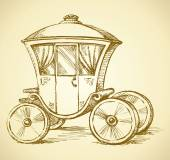 Carriage Vector drawing