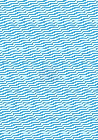Seamless ripple pattern