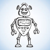 Robot Vector drawing