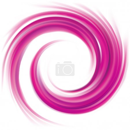 Illustration pour Brillant radial ondulé fond courbé avec centre blanc éclatant. Tourbillon gel fluide surface caramel rose. Confiture appétissante fruits juteux couleur mauve : raisin, groseille, myrtille, mûrier, ronce - image libre de droit