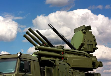 "Weapons of anti-aircraft defense ""Pantsir-S1"""