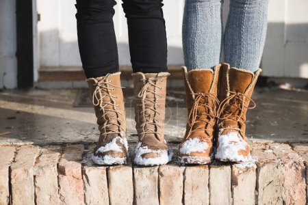 Photo for Winter shoes - Royalty Free Image