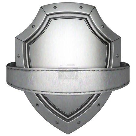 Nahaufnahme des Metallschildes
