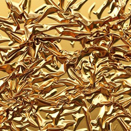 Luxurious gold satin background