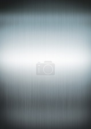Silver brushed metal background texture
