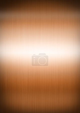 Copper brushed metal background texture