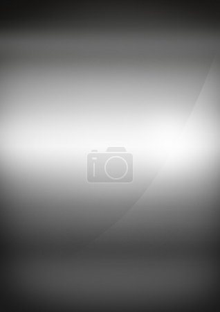 Silver polished metal background texture