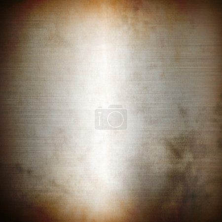 Silver rusty brushed metal background texture