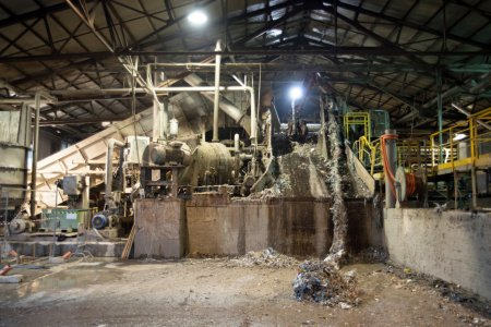 Paper Mill - Pulping department