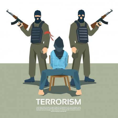 Armed Terrorist Group With Hostage Kidnapping