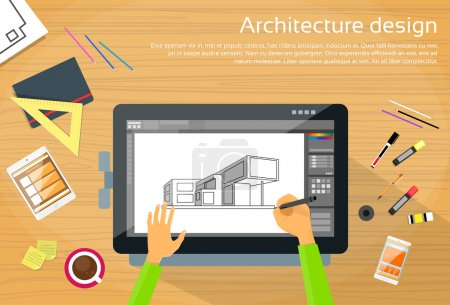 Architecture and Designer Workplace