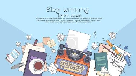 Typewriter Author Writer Workplace Desk