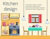 Kitchen design Kitchen and dining room interior