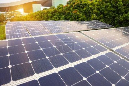 Foto de Planta de energía solar - Imagen libre de derechos