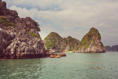 Halong Bay by day, Vietnam...