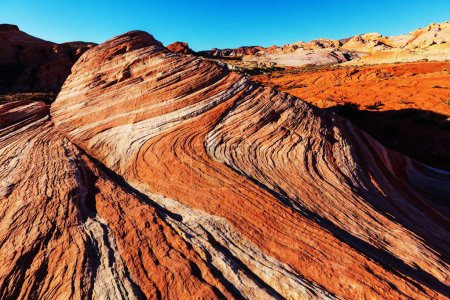Photo for View of Valley of Fire State Park, Nevada, USA - Royalty Free Image
