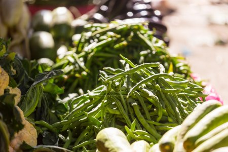 Vegetables on street market