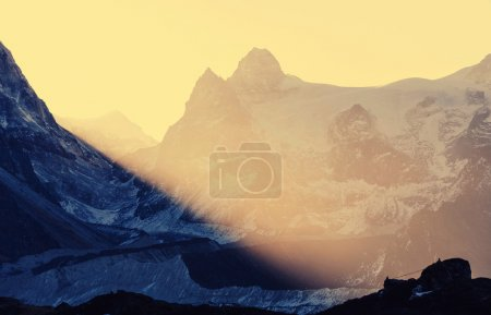 Scenic view of Himalayas mountains