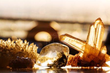 Natural mineral Crystals