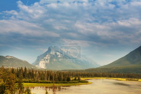 Picturesque Canadian mountains