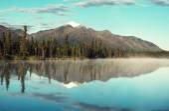 Mountain Lake on Alaska