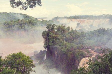 Iguassu waterfalls, South America
