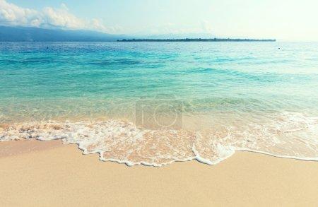 Serenity beach background