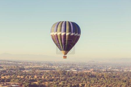 hot air Balloon in Mexico