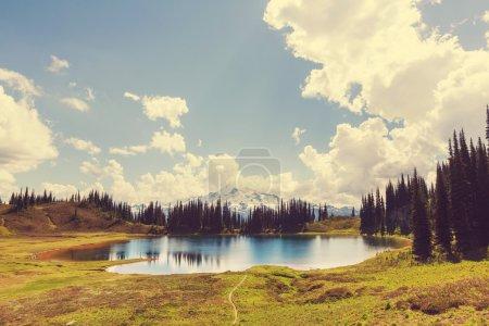 lake and Glacier Peak