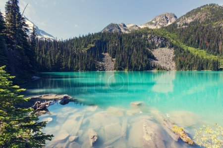 Photo for Beautiful turquoise Joffre lake in Canada - Royalty Free Image