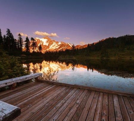 beautiful Mount Shuksan