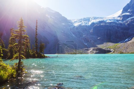 Photo for Beautiful Joffre lake in Canada - Royalty Free Image
