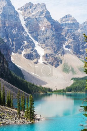 Moraine lake in Banff National park