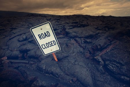 Road in Hawaii island