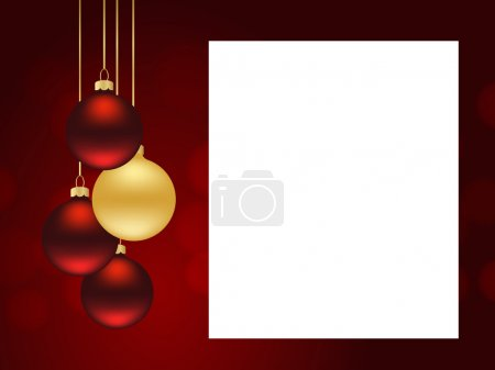 xmas red template