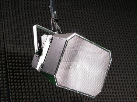 Photo pour Structures d'éclairage studio tv lumières équipements et projecteurs - image libre de droit