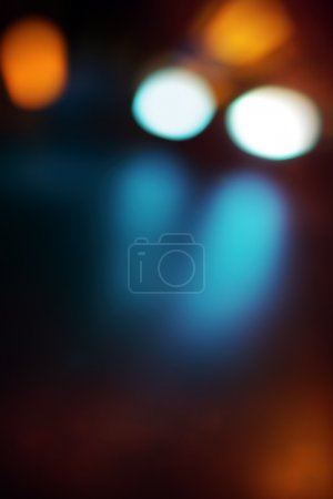 Traffic bokeh light background