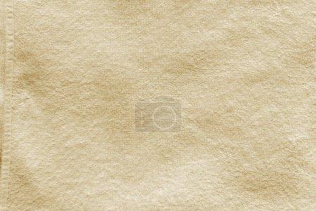 Foto de Textura de toalla beige, fondo detallado de alta resolución - Imagen libre de derechos