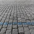 Постер, плакат: Cobblestone pavement
