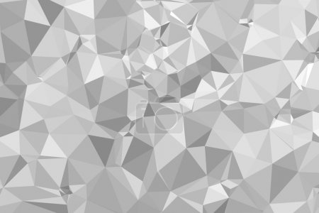 Photo for Modern Graphic Triangular Polygons Abstract Background Pattern - Royalty Free Image