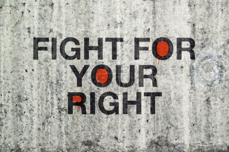 Fight For Your Right Grafitti