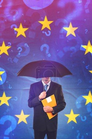 European Union Businessman Questioning