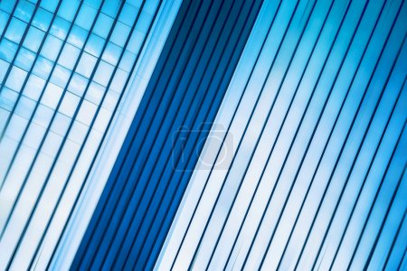Modern Office Building Abstract as Blur Business Background